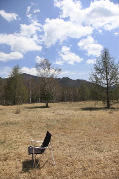 椅子と景色